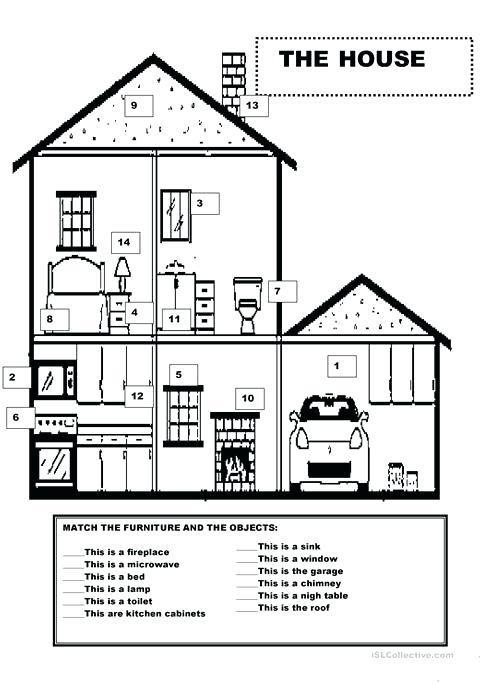 Furniture Worksheets For Preschoolers – Postjoint