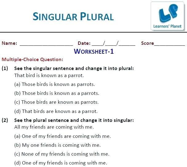 Grade 4 English Worksheets Printable