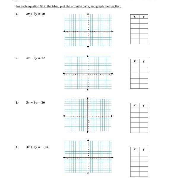 Graphing Functions Worksheet Kuta