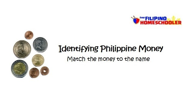 Identifying Philippine Money Worksheets – The Filipino Homeschooler