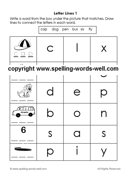 Free Kindergarten Printable Worksheets Make Learning Fun!