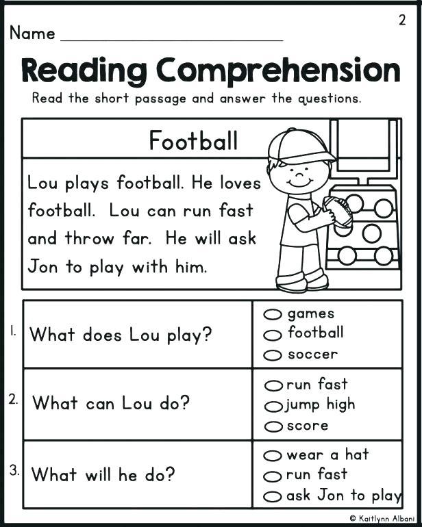 Kindergarten Reading Worksheets Worksheets Kindergarten Reading