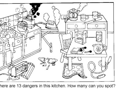 Kitchen Safety For Kids Worksheets Worksheets For All