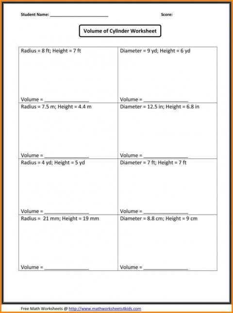 Math Worksheets Grade With Answer Key Ideas Of 6th 7th Answers I