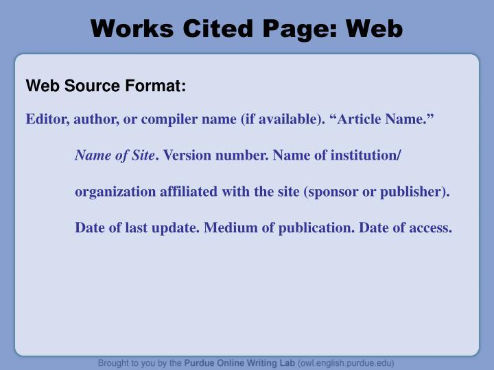 Mla Works Cited Practice Worksheet Worksheets For All