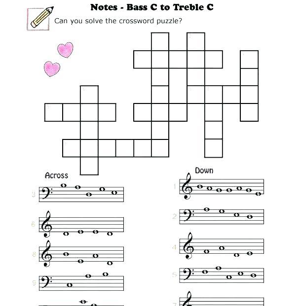 Musical Note Worksheets – Homefashion Club