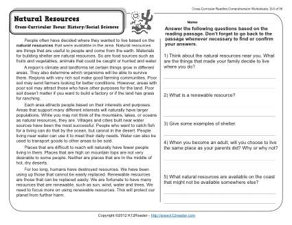 Natural Selection Middle School Worksheet Worksheets For All
