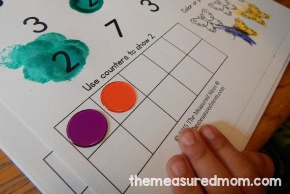 Free Number Worksheets 1