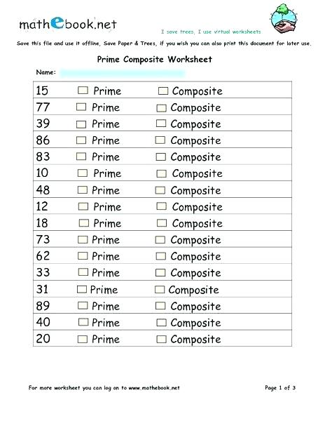 Badccbfddfb Prime And Composite Numbers Worksheets