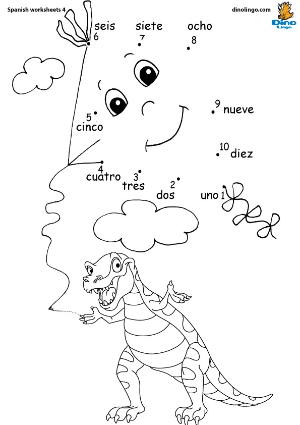 Spanish Worksheets For Preschool