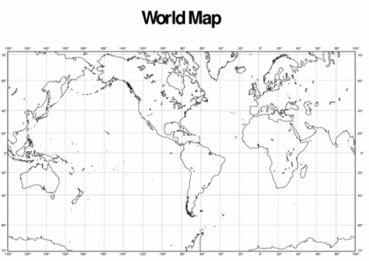 Printable World Maps With Latitude And Longitude And Travel