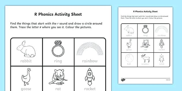 R Sound Worksheets Light And Sound Worksheets Grade 1