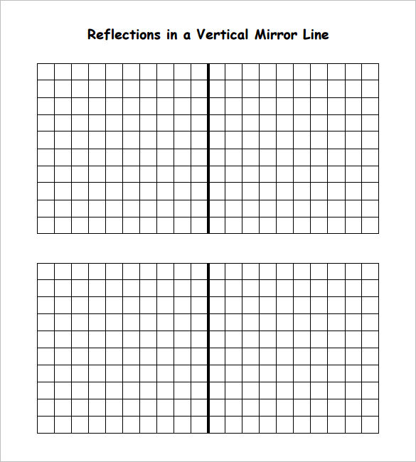 6+ Reflective Symmetry Worksheet Templates & Samples