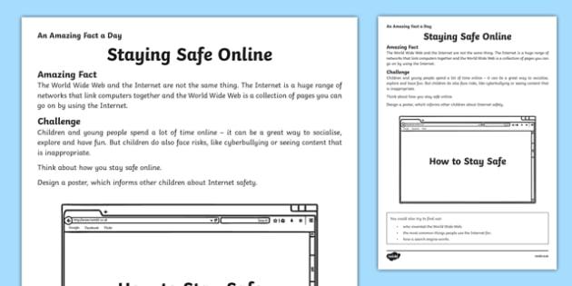 E Safety Worksheets Ks2