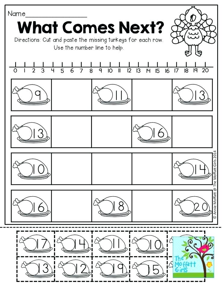 Thanksgiving Worksheets Free Themed For 2nd Grade Printable Math