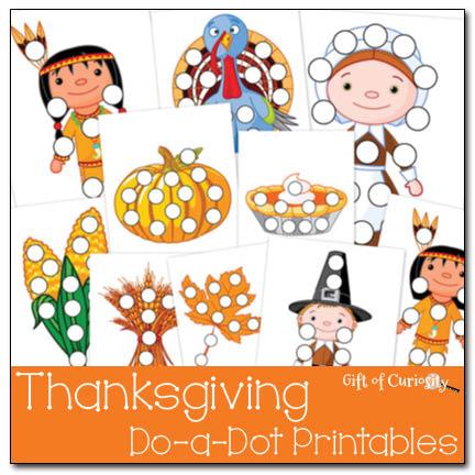 Preschool Thanksgiving Worksheets