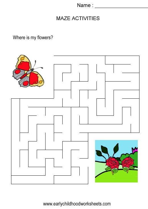 Timely Kindergarten Puzzles Worksheets 1796 301 381 Adamtrail