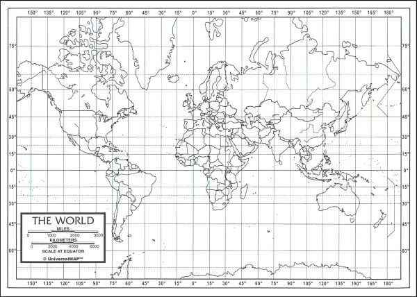 World Map Latitude And Longitude Worksheet Worksheets For All