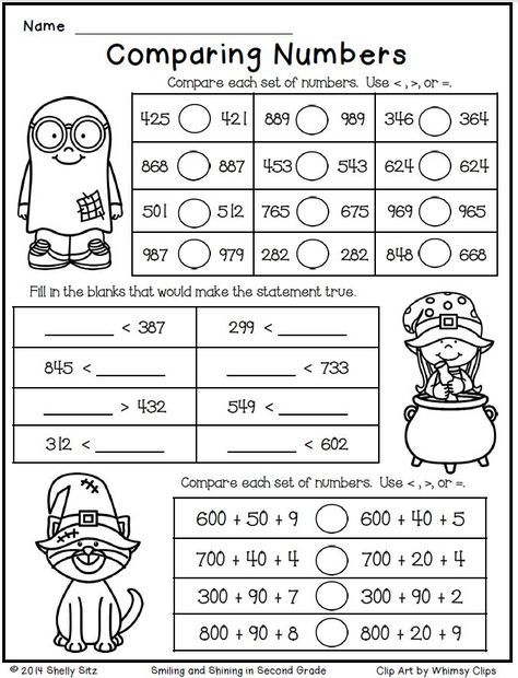 Halloween Math For Second Grade