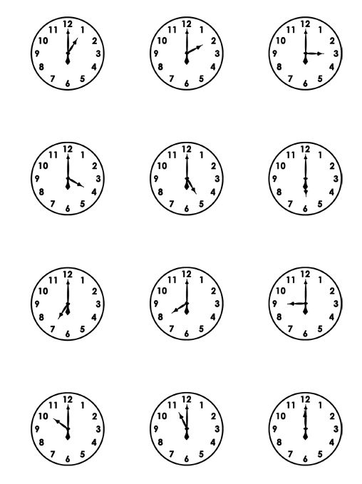 Free Download Of Clocks From Scrapbooks, Etc