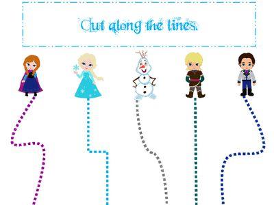 Frozen Preschool Worksheets