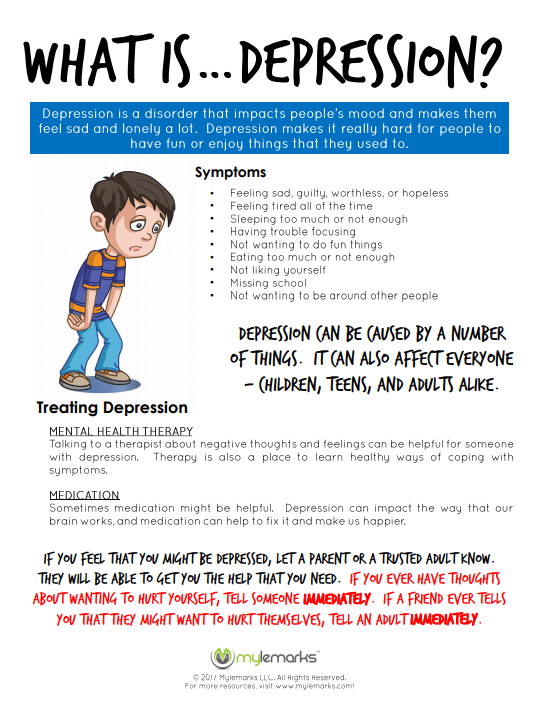 Educate Children About The Signs And Symptoms Of Depression With