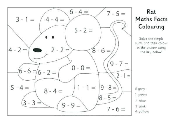 Algebra Coloring Worksheets Addition Equations And Subtraction Pdf