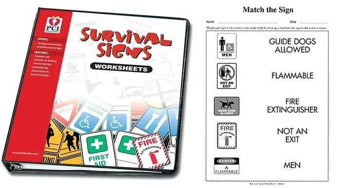 Survival Signs Worksheets – Spechp Info