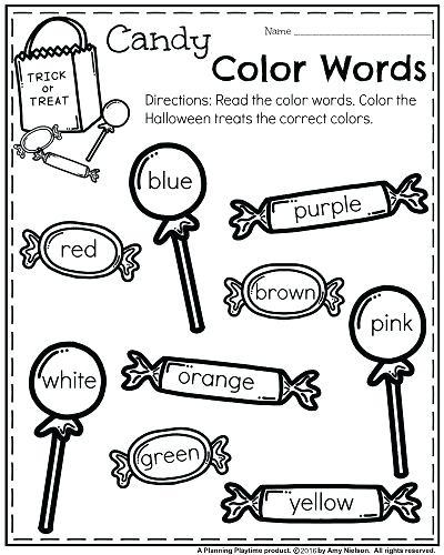 Colors Worksheets For Kindergarten – Paigeelizabeth Info