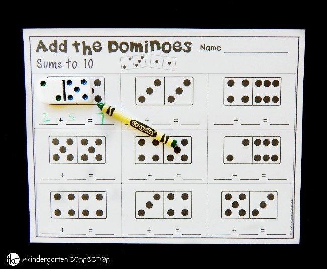 Domino Addition Printables