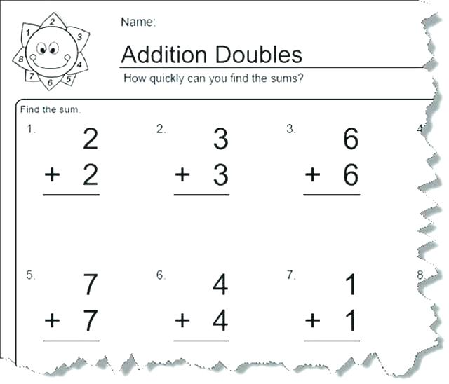 Addition Subtraction Fact Families Worksheets For Grade Math And