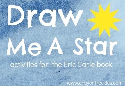 Crayon Freckles  Draw Me A Star Activities {eric Carle}