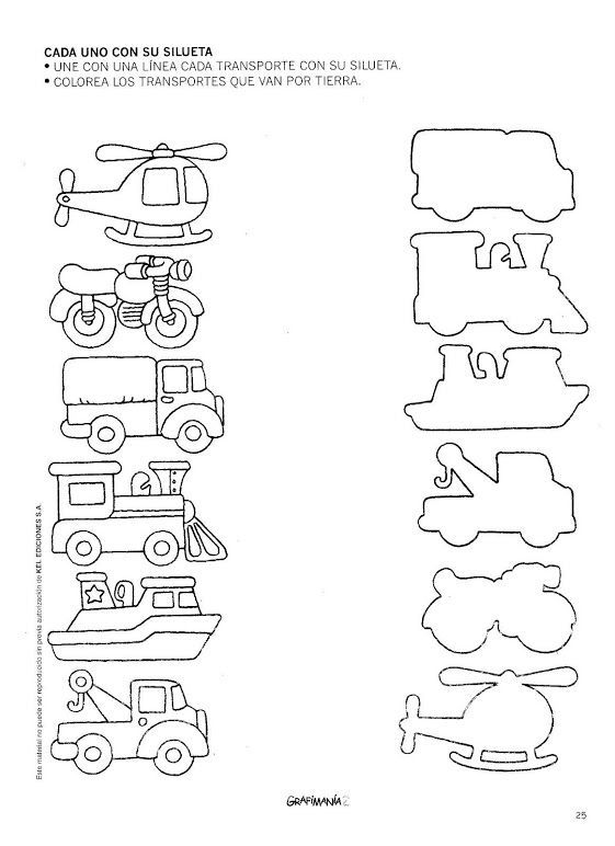 Transportation Shadow Matching Worksheet (1)