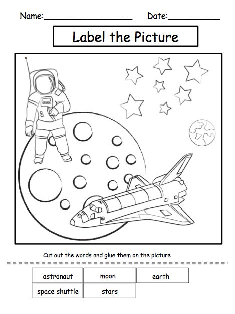Solar Systems Activity Sheets