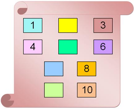 Worksheets On Missing Numbers From 1 To 10