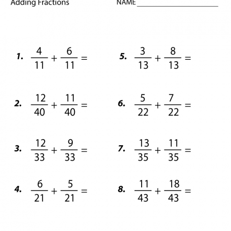 Fraction Worksheets 5th Grade For Free Download ⋆ Free Printables