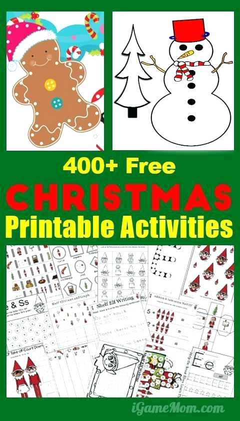 Fun Worksheets Free Christmas For Middle School Activity – Tcli Me