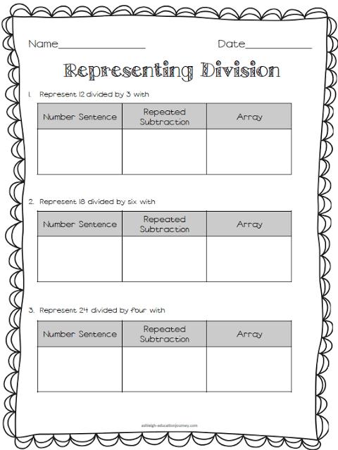 Free Multiplication Division Worksheet Thirdgradetroop