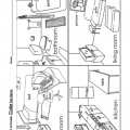Rooms In The House Worksheets