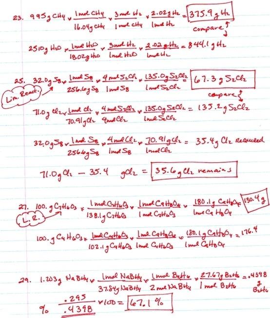 Limiting Reactant Worksheet Worksheets For All