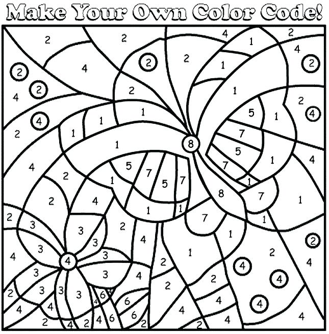 Math Coloring Pages Printable Free Math Coloring Worksheets For