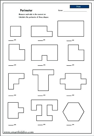 Perimeter Worksheets Elementary Archives Save Free Area And Grade
