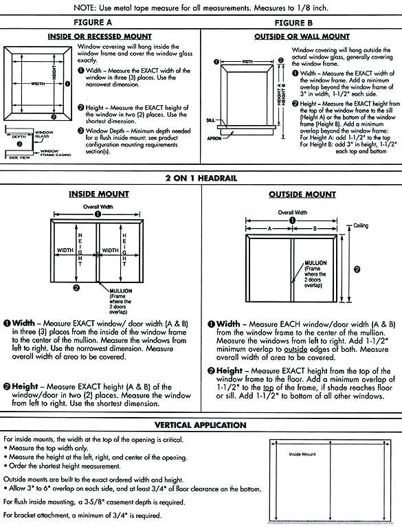 Measurement Window – Modernwetcarpet Com