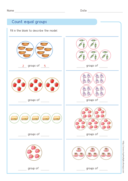 Multiplication Grouping Worksheets – Idea Worksheets