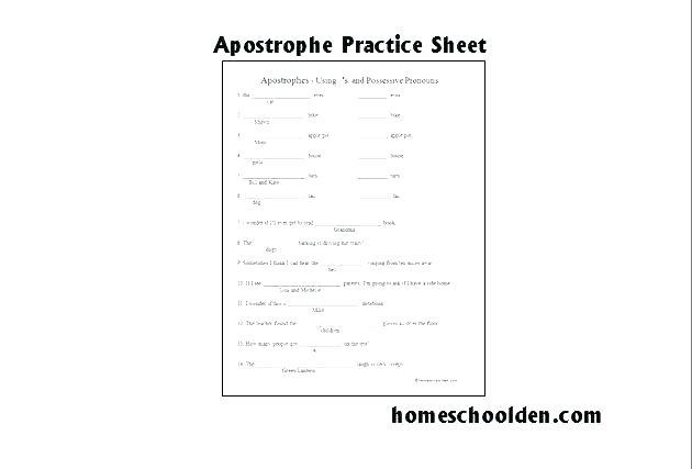 Printable Grade Worksheets Quotation Marks Worksheet