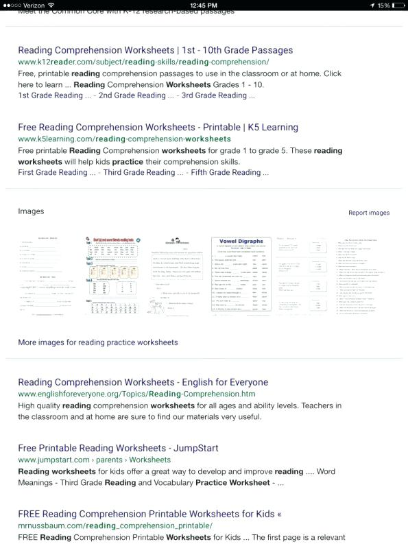 Comprehension Worksheets Reading Practice Free High School Doc
