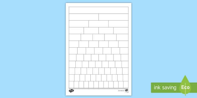 Blank Fraction Wall Sheet