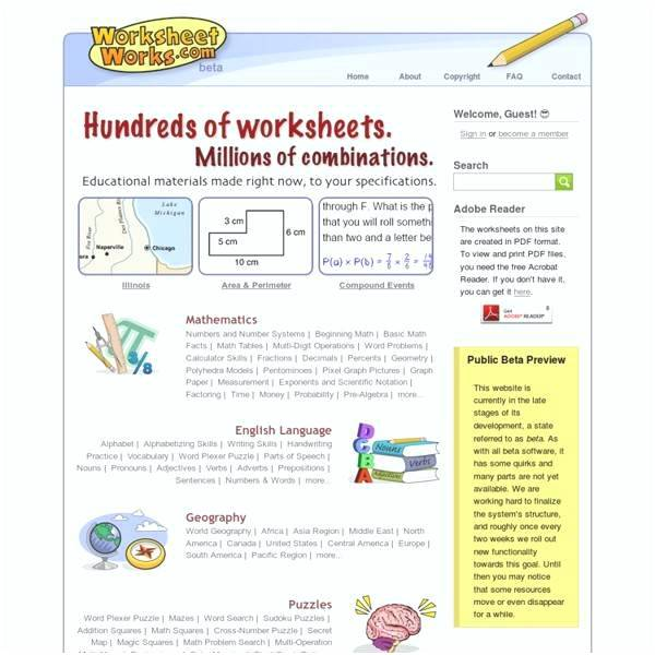 Worksheet Works Word Answers Worksheets Library Free Plexers For