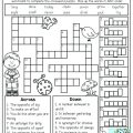 Puzzle Worksheets For 2nd Grade