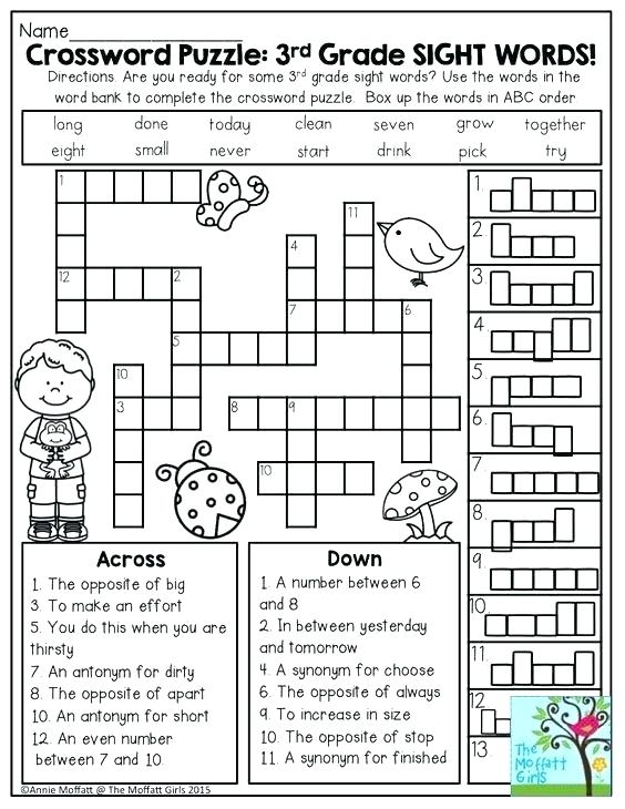 Worksheets Word Search Puzzle Puzzles Fun Math For 2nd Grade Logic Pdf